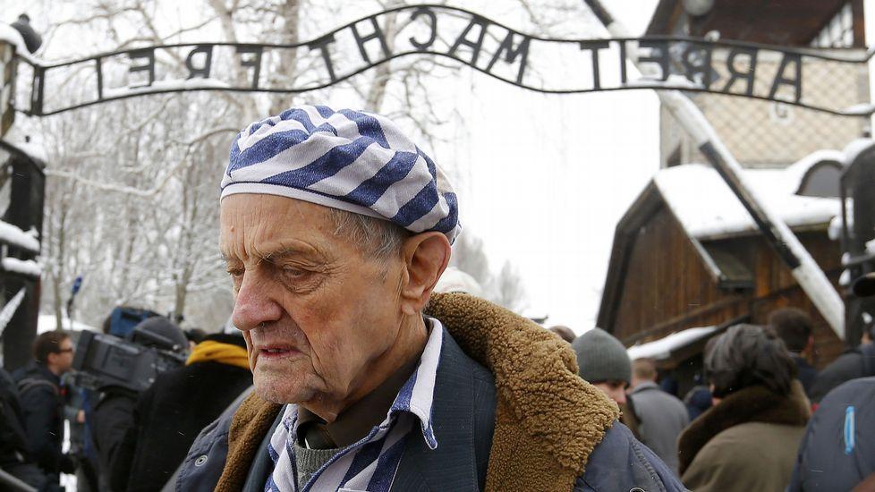 Igor Malicki es un ucraniano que sobrevivió al campo de exterminio nazi.