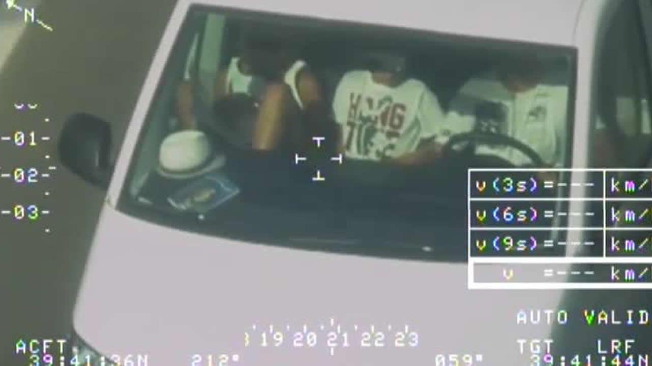 Bebés sin cinturón y dando palmas, cogidos in fraganti por las cámaras de la DGT.