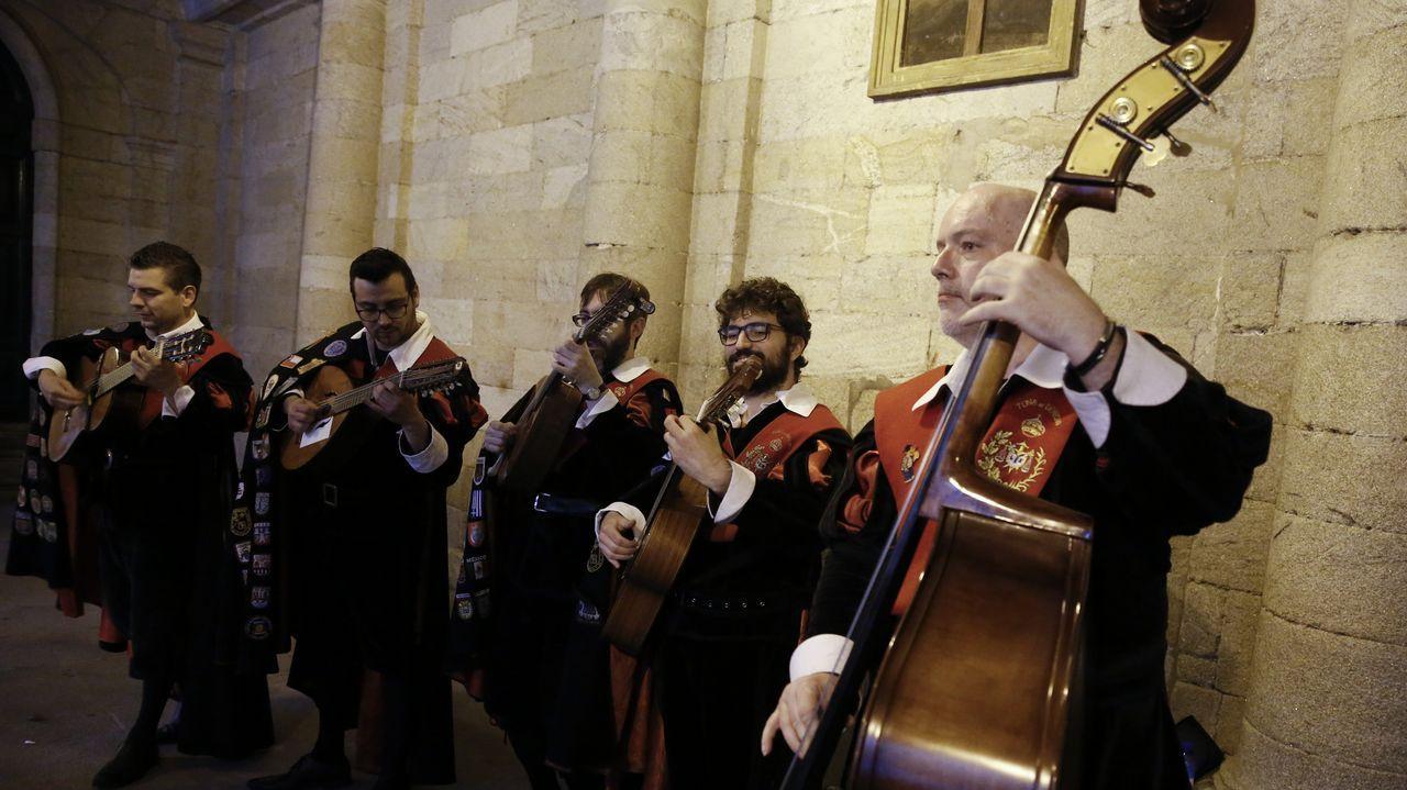 Los últimos tunos de Compostela