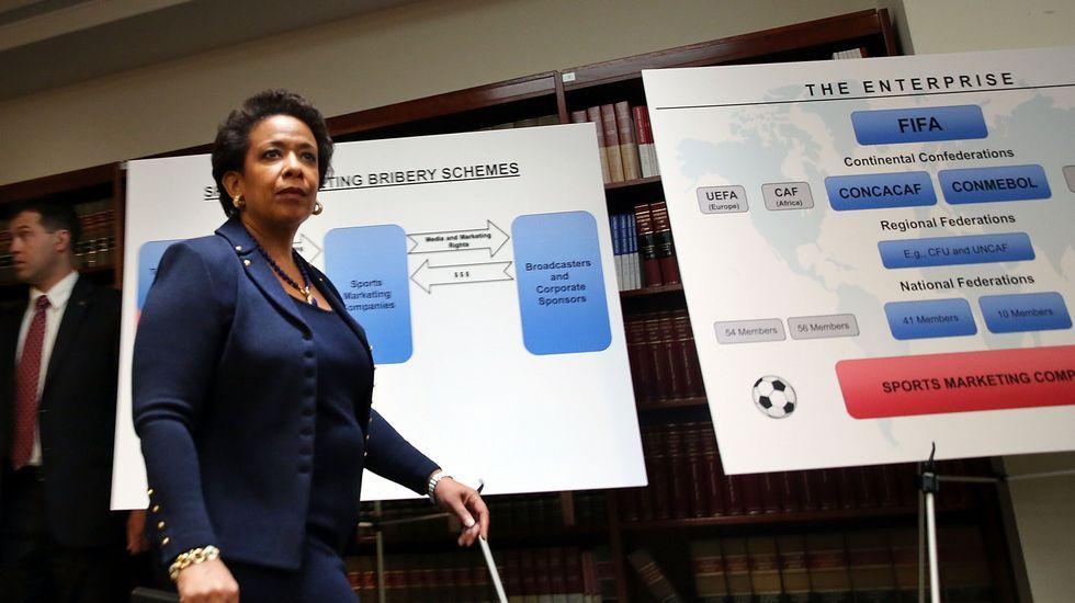 Detienen en Suiza a varios altos cargos de la FIFA