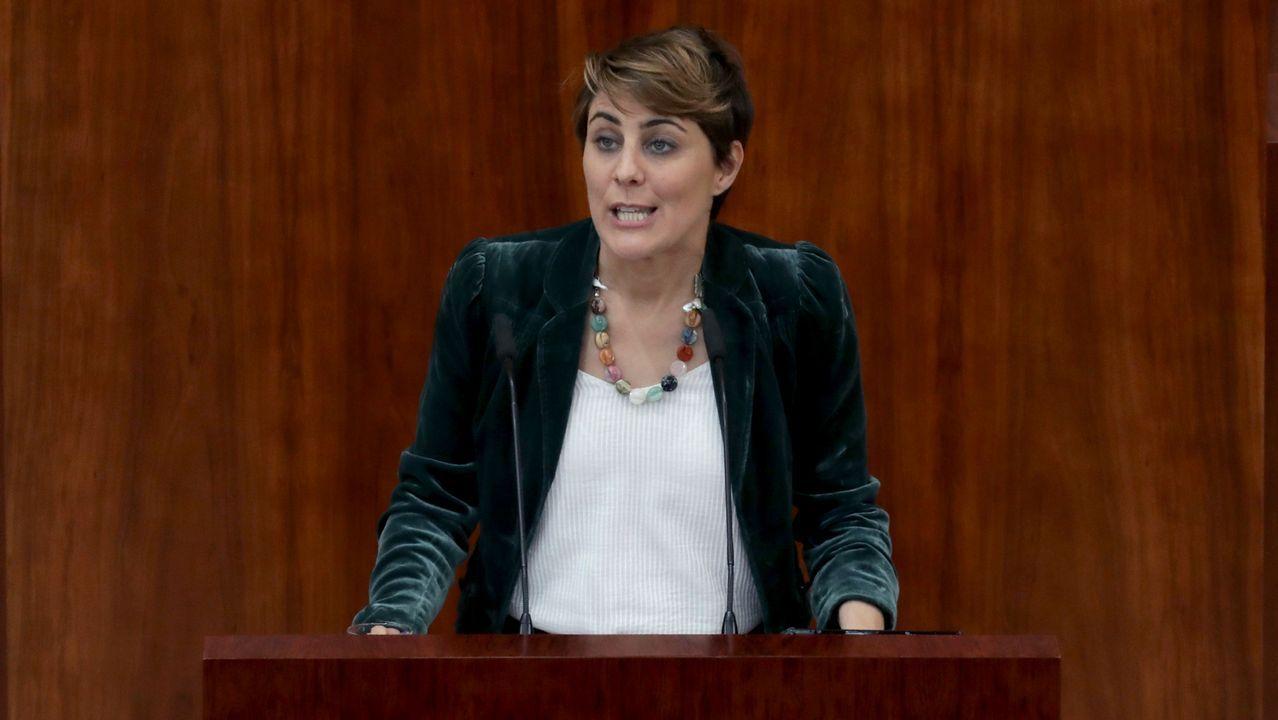 La portavoz de Podemos le exigió la dimisión «si no demuestra que las acusaciones con falsas»