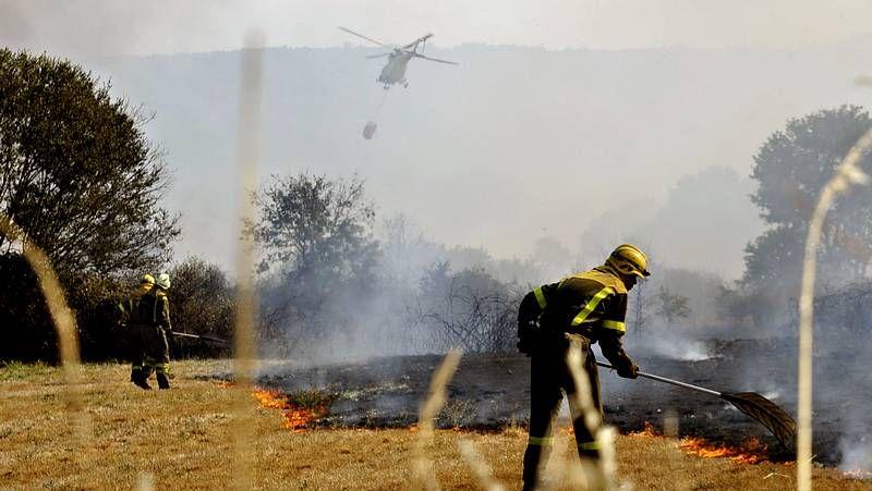 Los incendios no dan tregua en Galicia.