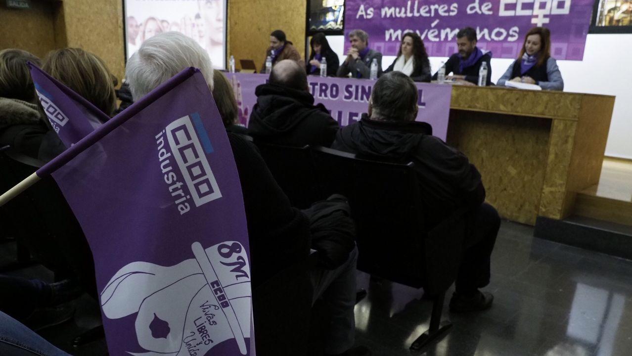 De Marruecos a A Coruña: así es el órgano de la iglesia de los franciscanos.Unai Sordo, secretario general de CC OO, participó en la asamblea por la huelga de mujeres del 8M