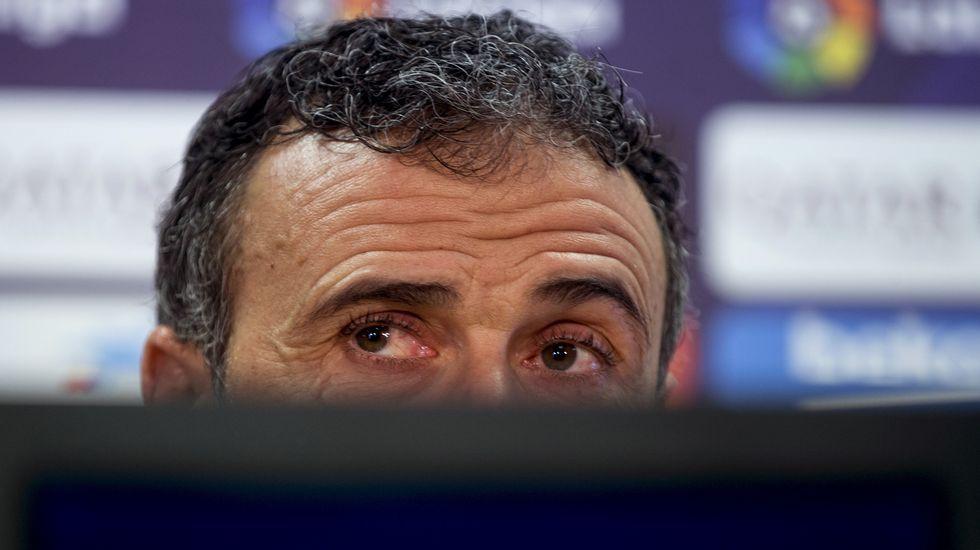 Luis Enrique, ante las críticas por la Champions