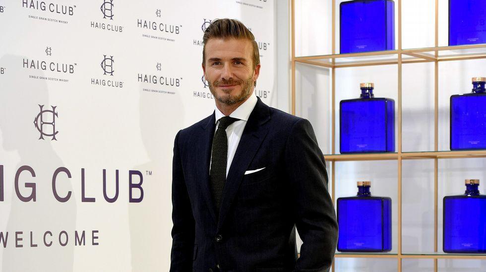 David Beckham, el hombre más sexy.Había hasta un photocall de llamativas proporciones dedicado.