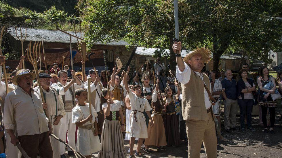 Imágenes de la Feira Medieval Guímara.