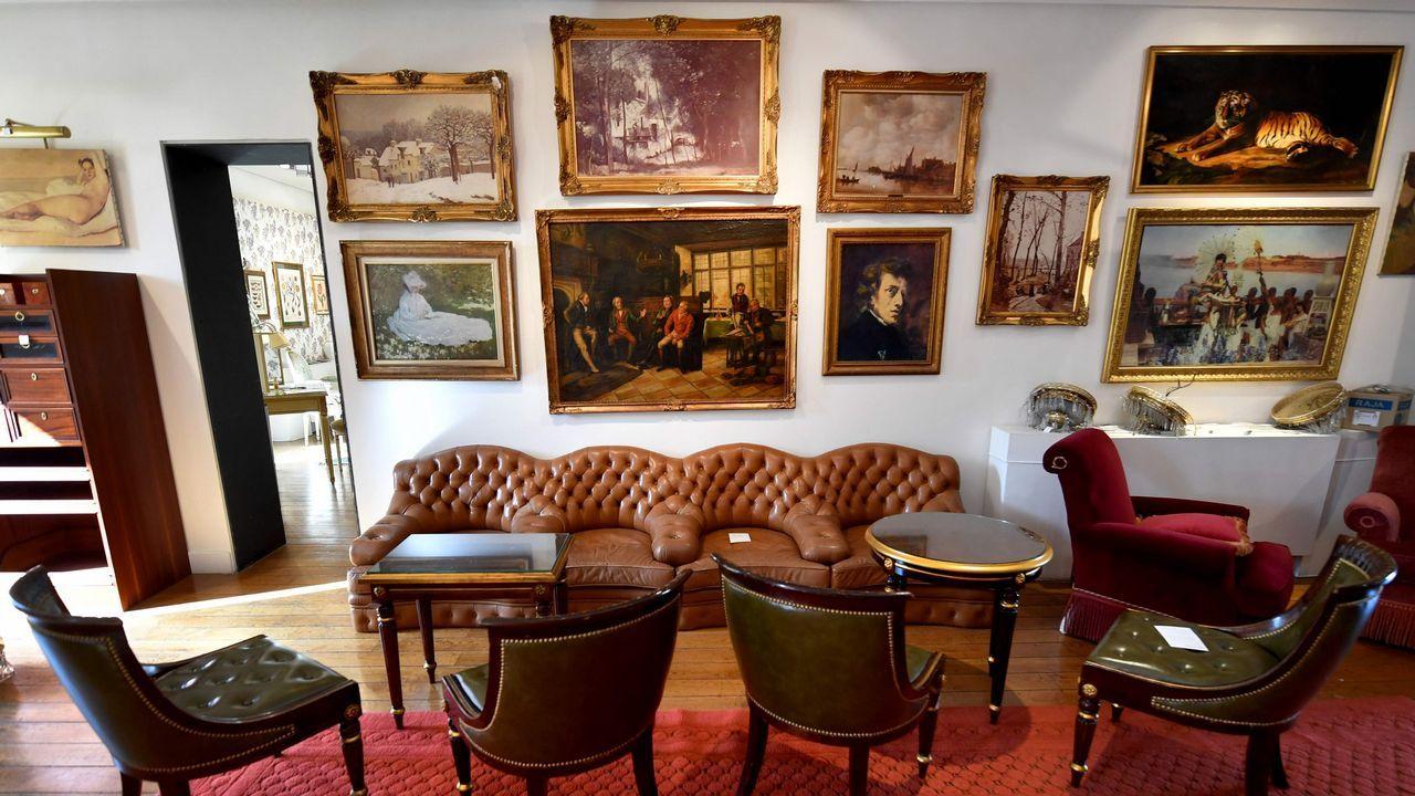 El bar Hemingway, en el Ritz de París