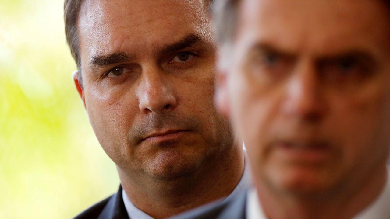 Ourense saca músculo en Fitur.Flávio Bolsonaro, tras su padre, en la sede del Gobierno en Brasilia