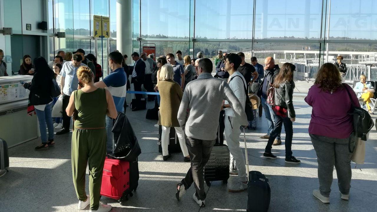 En directo y en streaming, el juicio del procés.Aeropuerto de Asturias