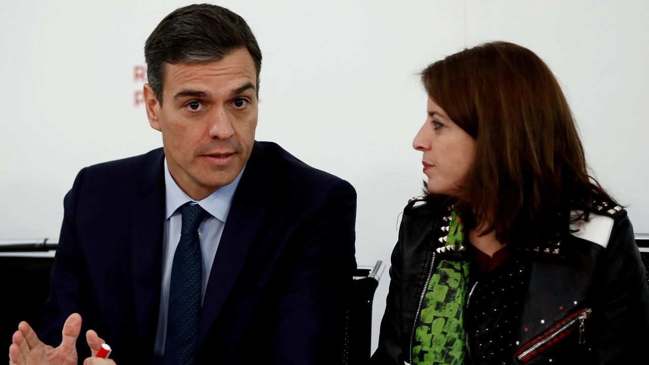 Javier Fernández y Adrián Barbón
