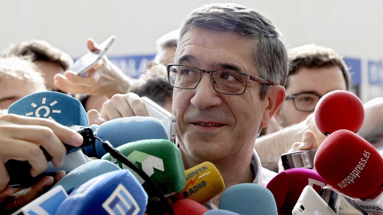 Patxi López, que será el encargado de Política Territorial en la nueva ejecutiva