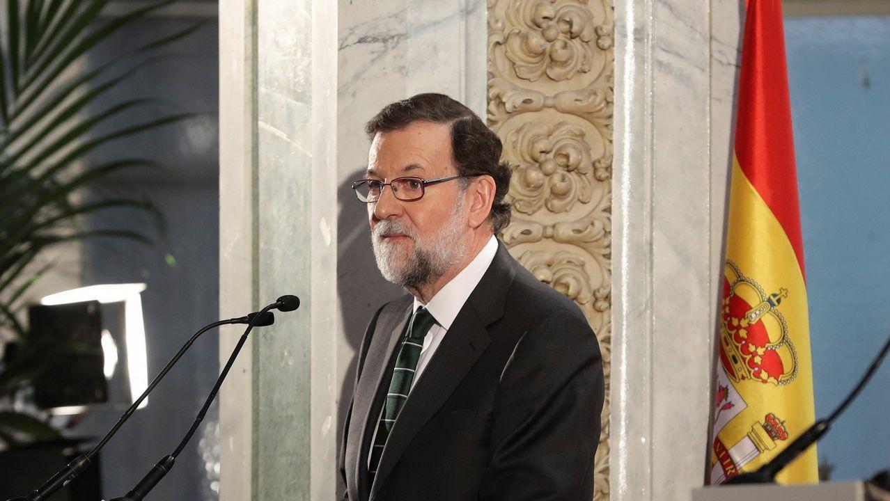 Rufián y Rajoy se enzarzan por el adoctrinamiento.El ministro de Fomento, Íñigo de la Serna