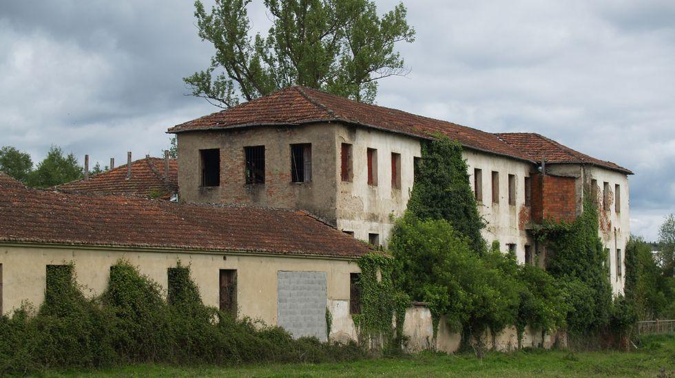 Antigua fábrica de curtidos de Manuel Sáez, activa hasta mediados del siglo pasado