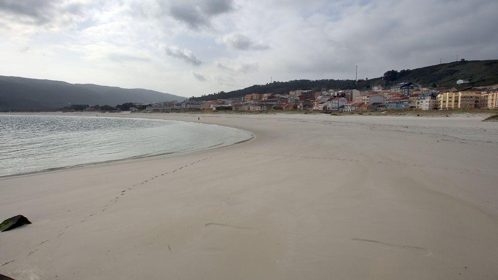 Laxe. Playa de Laxe