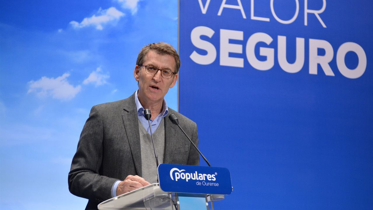 Sánchez busca en Vigo el voto de los que quieren una «opción moderada».Ignacio Prendes
