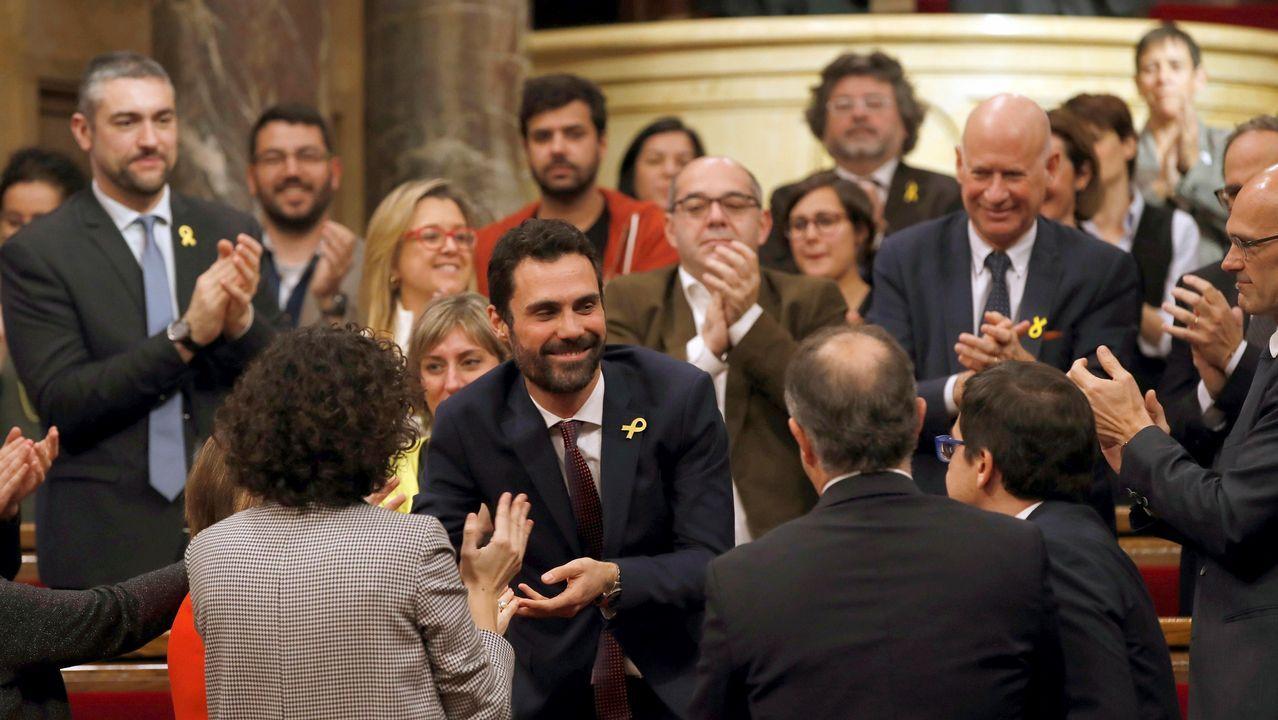 En directo, constitución del Parlamento de Cataluña.Ignacio Prendes