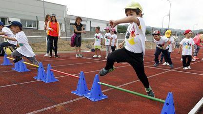 Muchos colegios terminan el curso con celebraciones que incluyen competiciones deportivas