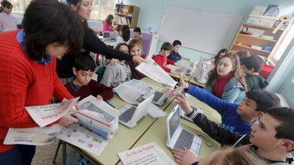 Una de las propuestas clave del Programa Prensa-Escuela es llevar a las aulas de los centros inscritos el periódico cada semana