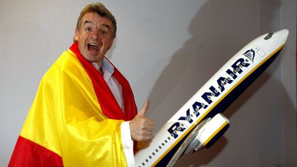 Michael O'Leary, durante una de sus visitas a España