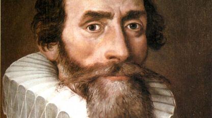 etrato de Johannes Kepler en 1610, que lo representa con una regla y un compás de puntas secas, símbolos de la matemática. Copia de un original de autor desconocido que estaba en el monasterio benedictino de Kremsmünster (Austria)