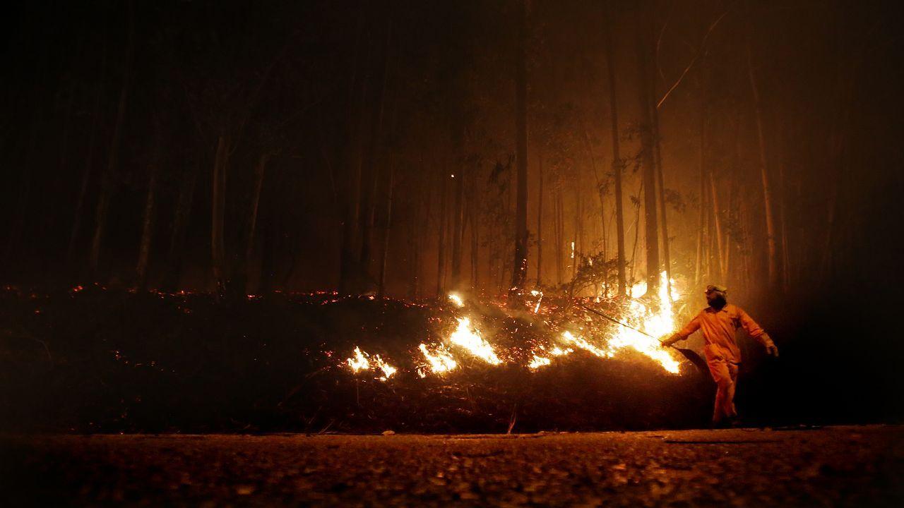 Incendio en Coruxo