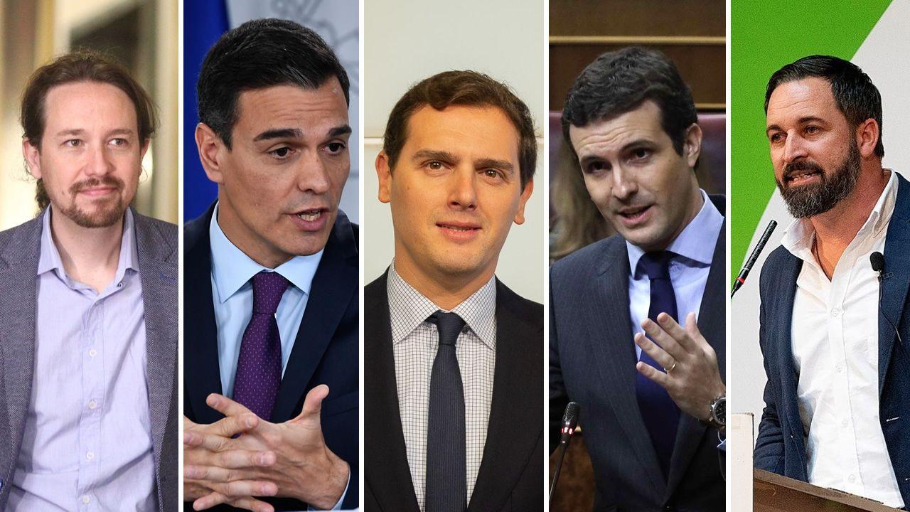 El mitin, en fotos.El equipo de la ministra de Defensa, Margarita Robles, fue el encargado de presentar la denuncia ante la Fiscalía