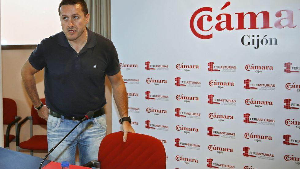 .El secretario general de UGT Asturias, Javier Fernández Lanero,