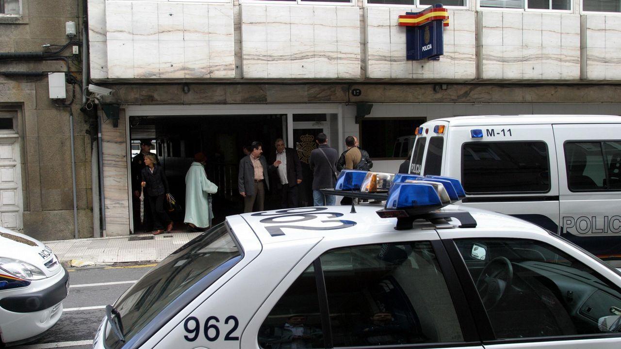 Agentes de la Policía Nacional investigan el caso