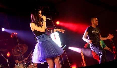 Delafé y las Flores Azules en el Festival do Norte del 2011.