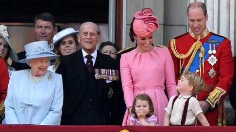 La familia real británica celebra de forma oficial el cumpleaños de Isabel II