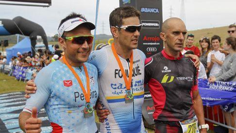 Así lo vivieron los tres primeros clasificados del Ironman de As Pontes