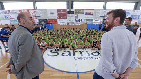 Elcampeón de Euroliga y Eurobasket en Sarria