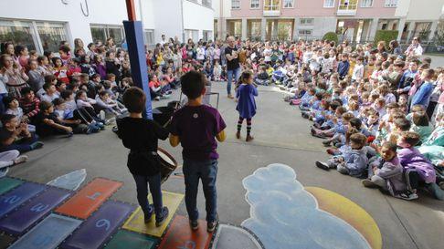Alumnos do CEIP Rosalía de Castro celebrarono día da escritora