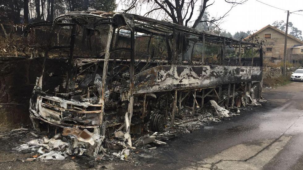 Los incendios arrasan Galicia.