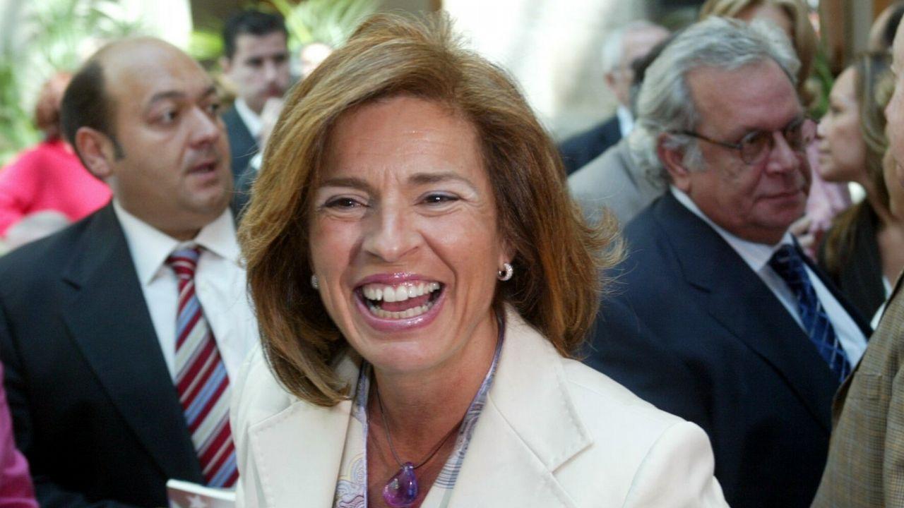 Las lecciones de Aznar y la respuesta del PP.Ana Botella, en el 2005