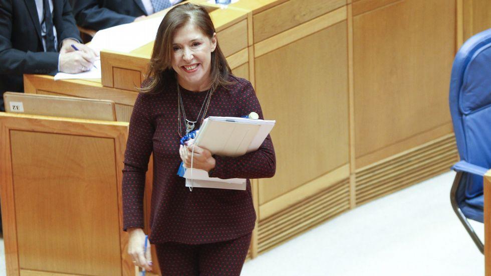 Beatriz Mato. Conselleira de Medio Ambiente e Ordenación do Territorio.
