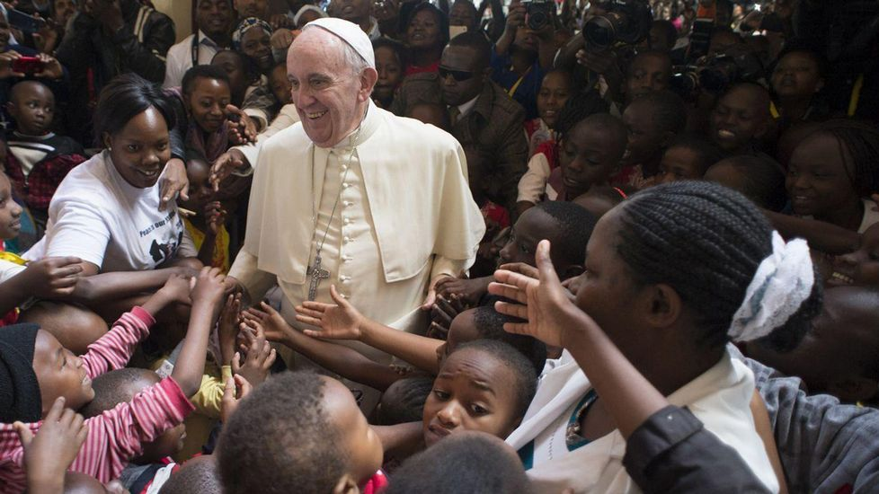 El papa Francisco llega a Uganda