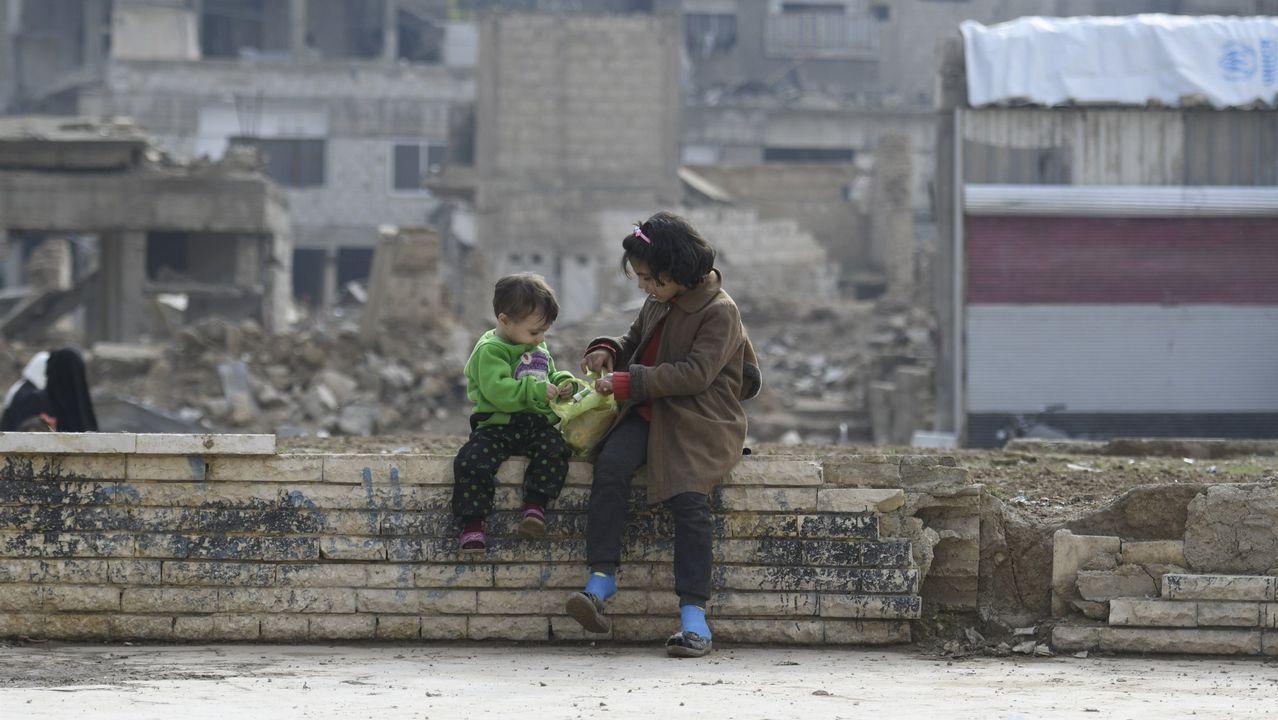 La duración de la guerra en Siria supera ya los siete años y medio. La mitad de los niños solo conoce un país en conflicto