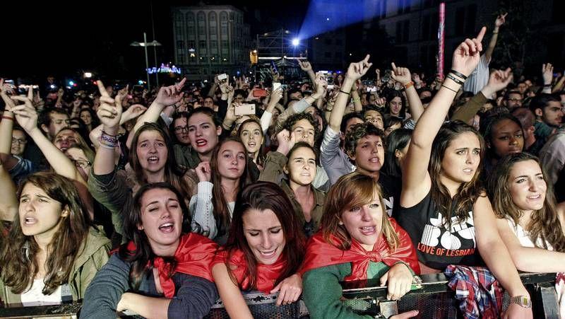 El concierto en Vigo de Love of Lesbian.La Iguana Club es la sala de conciertos decana de la ciudad con 23 años de directos.