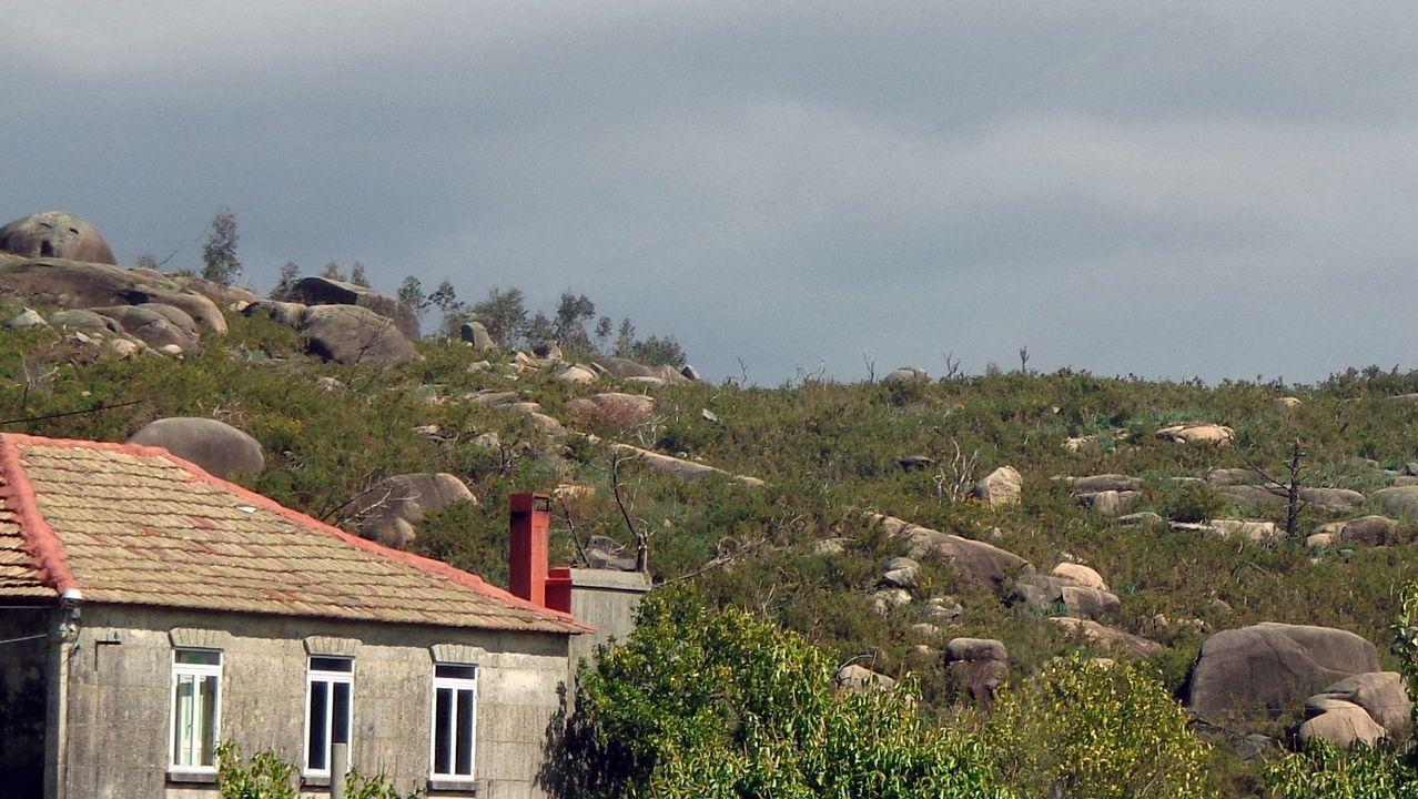 El embalse de Vilasouto el pasado septiembre, tras un año de sequía