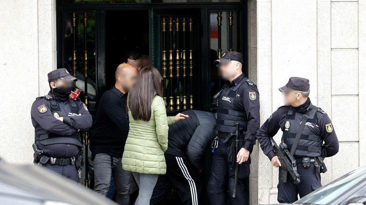 Detenidos por tráfico de drogas dos vilagarcianos