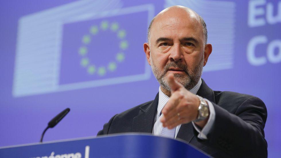 El Consejo Europeo trata un nuevo aplazamiento del Brexit.El negociador jefe de la Unión Europea para el «brexit», Michel Barnier, en una rueda de prensa hoy