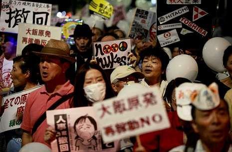 La presión popular antinuclear tras Fukushima fue decisiva en la decisión del gobierno nipón.