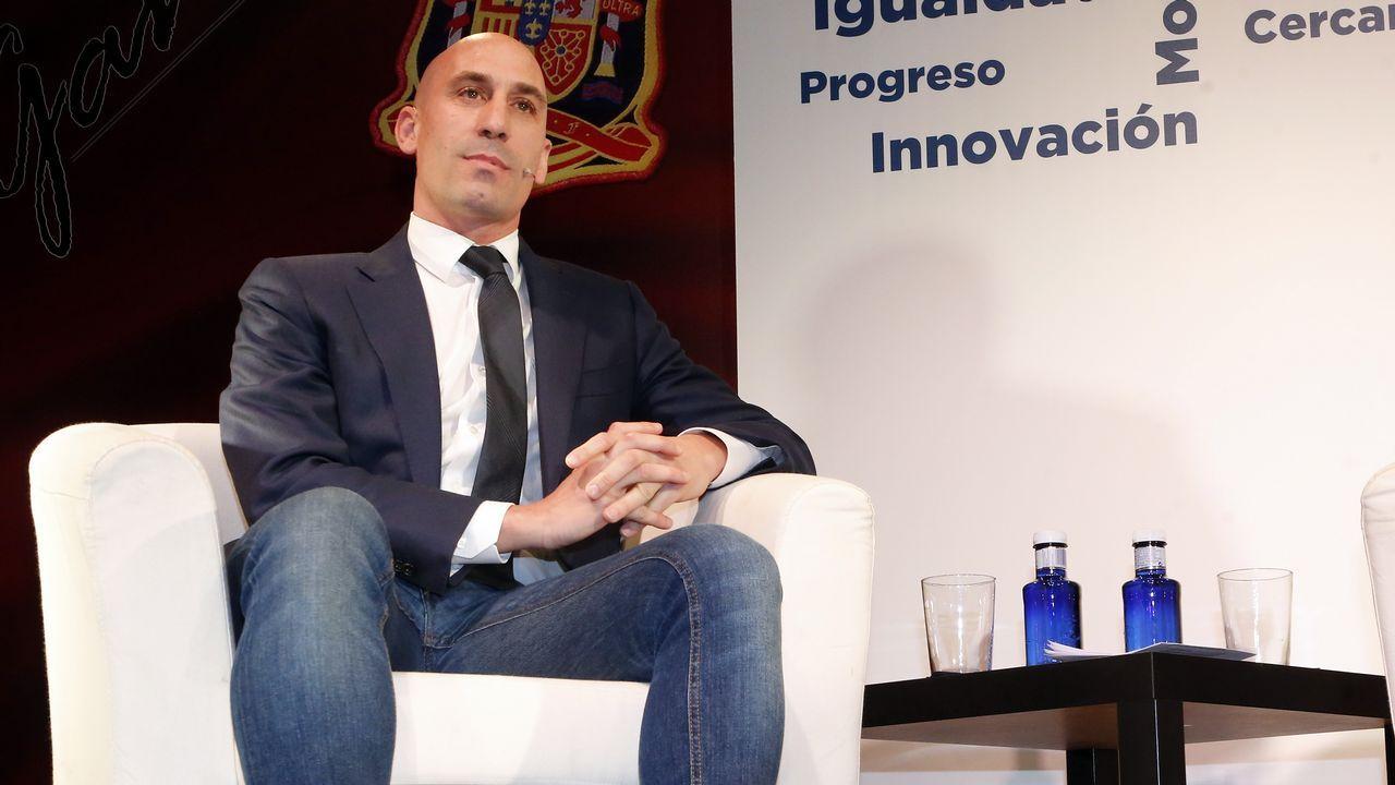 Luis Rubiales, candidato a la presidencia de la RFEF