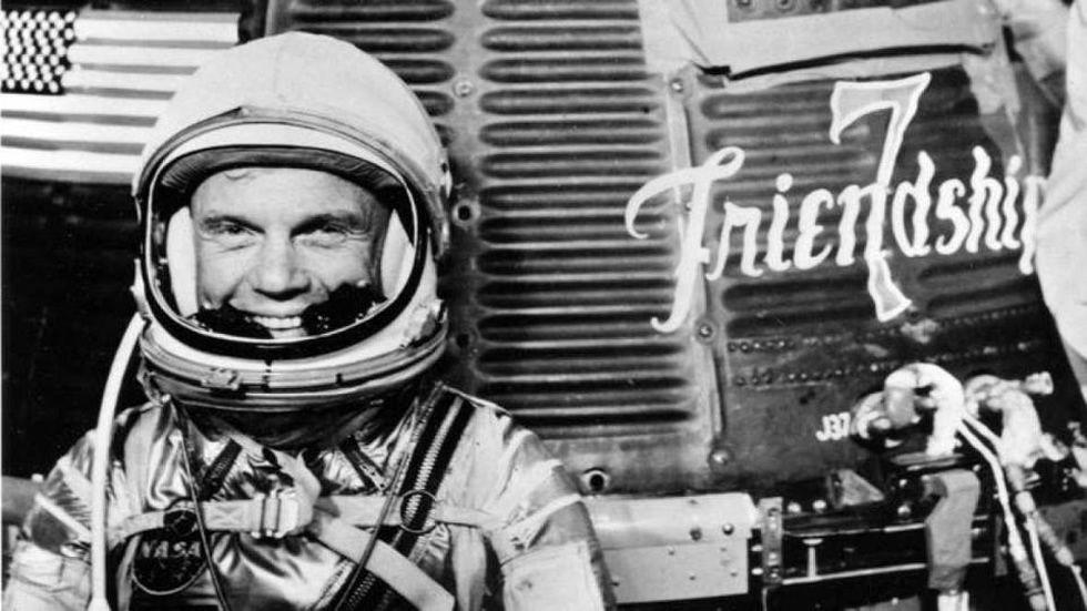 John Glenn, el americano que conquistó el Espacio.