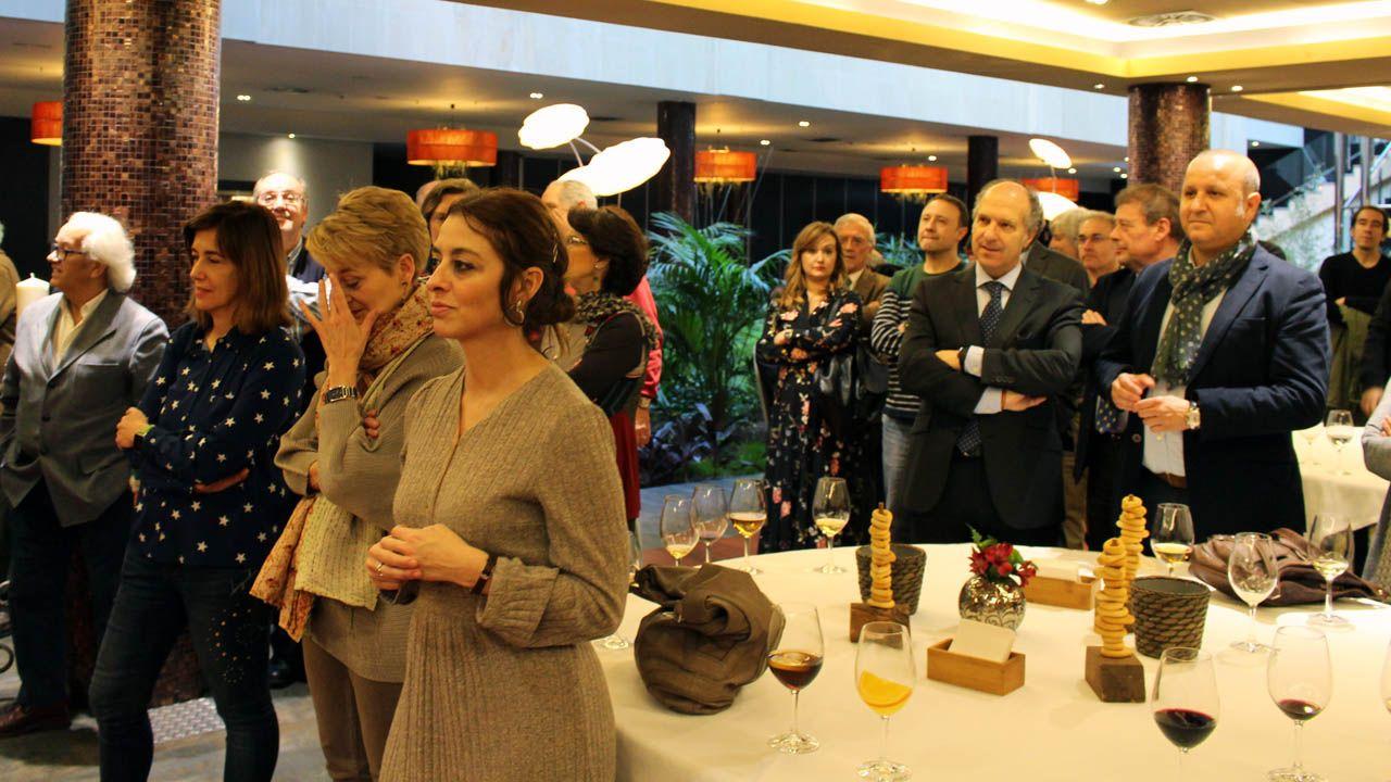 Asistentes a la comida anual de la Asociación de la Prensa de Oviedo (APO).Asistentes a  la comida anual de la Asociación de la Prensa de Oviedo (APO)