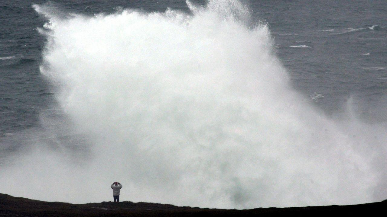 Midiendo el cambio climático en el Lago Enol.Ángela de la Cruz, en A Coruña, en el año 2015