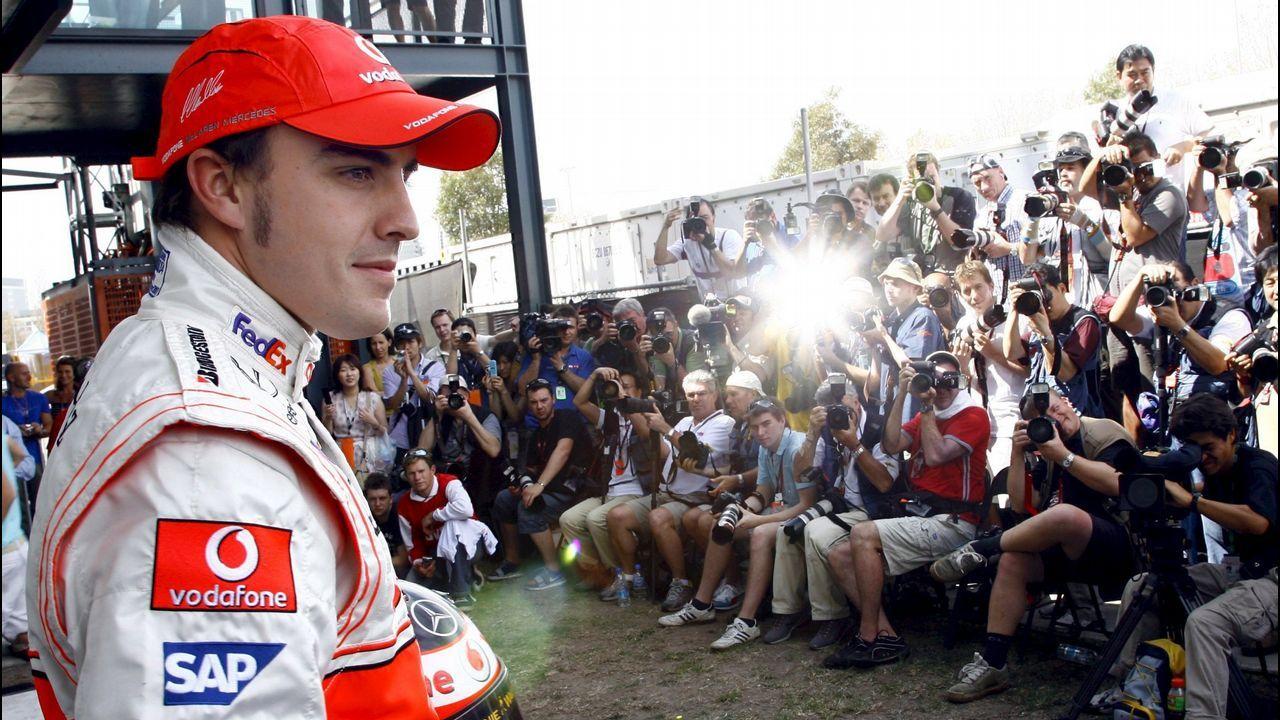 .Alonso, en un inicio de temporada en Australia con Maclaren