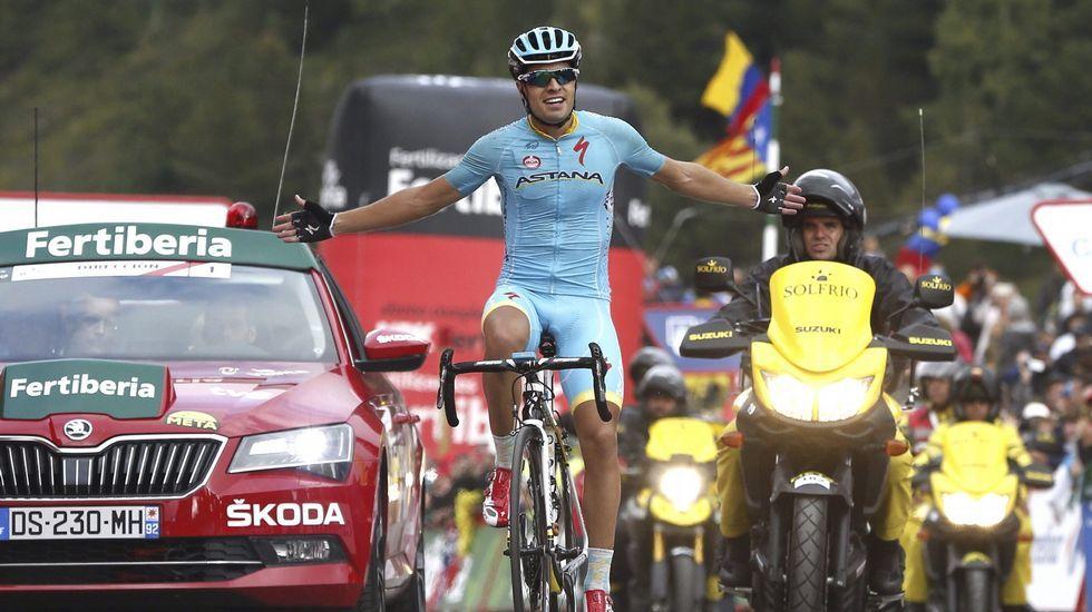 La etapa reina de La Vuelta, en fotos.