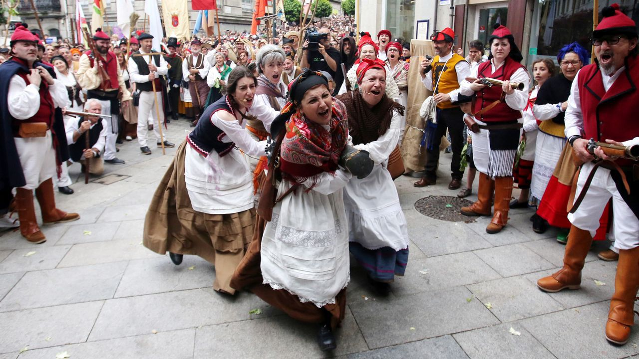 Atasco en la entrada a Oviedo